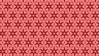 Red Seamless Stars Background Pattern Vector Illustration