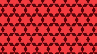 Red Stars Pattern Background