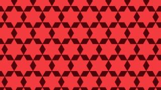 Red Stars Pattern Background