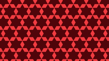 Dark Red Stars Background Pattern