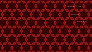 Dark Red Seamless Stars Pattern Background