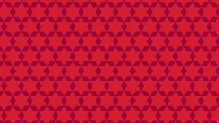 Red Seamless Stars Background Pattern