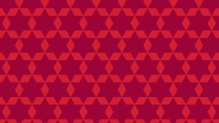 Red Star Pattern Graphic