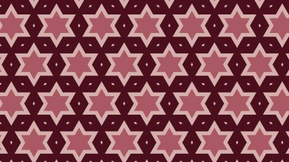 Dark Red Star Pattern Background Illustration