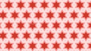 Red Stars Pattern Illustrator