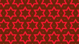 Dark Red Seamless Stars Pattern Vector Art