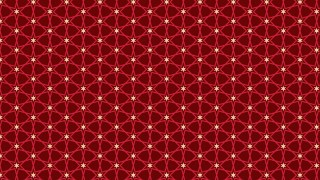 Dark Red Seamless Star Pattern Background