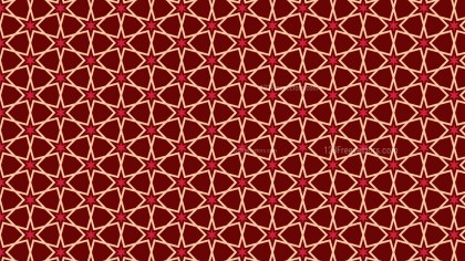 Dark Red Stars Pattern