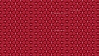 Dark Red Seamless Stars Pattern Background