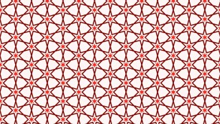 Red Star Background Pattern Illustrator