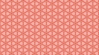 Red Stars Pattern Background Illustration