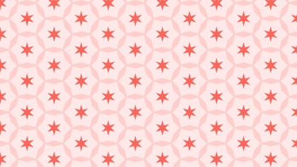 Light Red Seamless Star Pattern Background