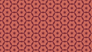 Red Stars Background Pattern