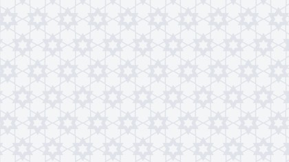 White Star Pattern Design