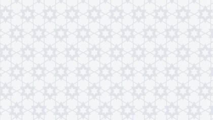 White Star Pattern Design