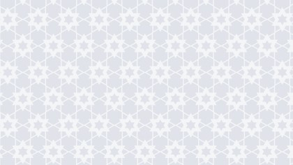 White Star Pattern Background Image