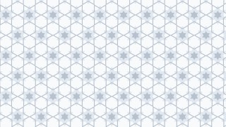 White Seamless Star Pattern Background Illustrator