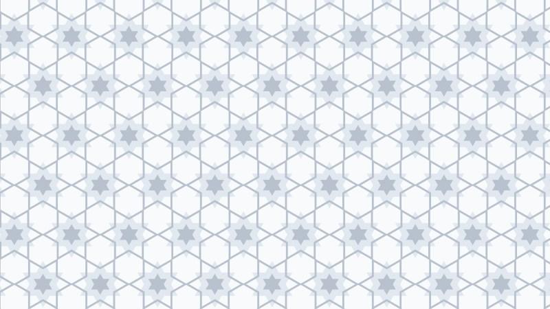 White Seamless Star Pattern Background Illustrator