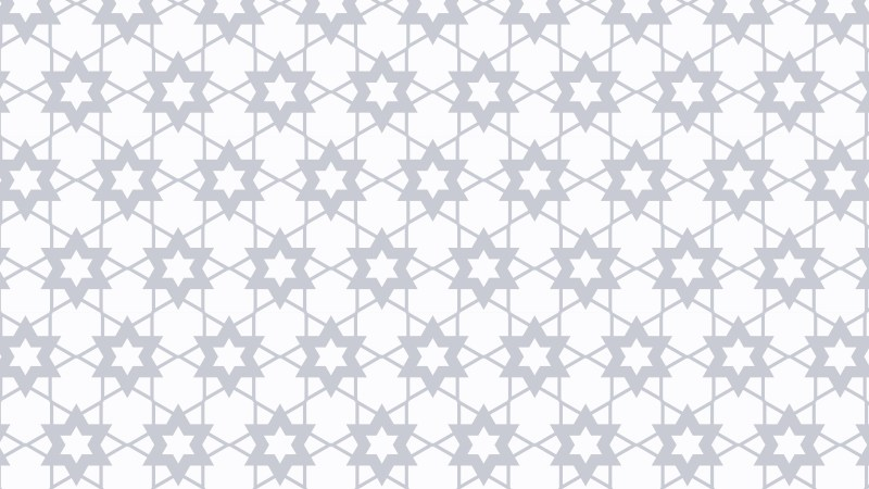 White Stars Pattern Vector