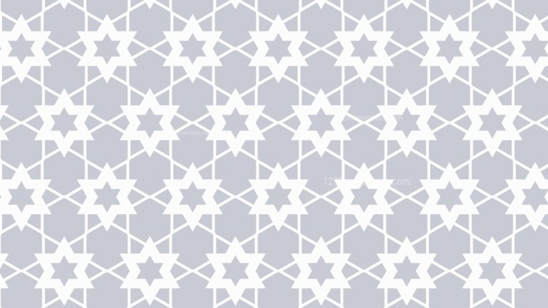 White Stars Pattern Background Vector Art