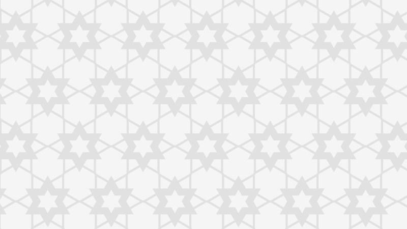 White Seamless Stars Pattern Background Design