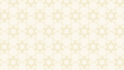 White Star Background Pattern