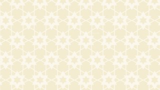 White Seamless Star Pattern
