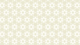 White Seamless Star Background Pattern