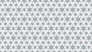 White Stars Background Pattern