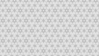 White Seamless Stars Pattern Background