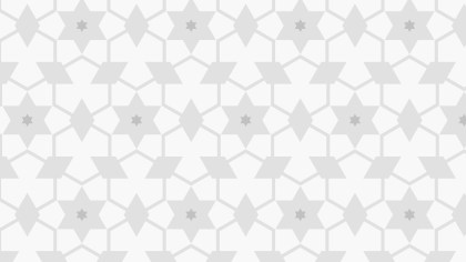 White Star Pattern Illustrator