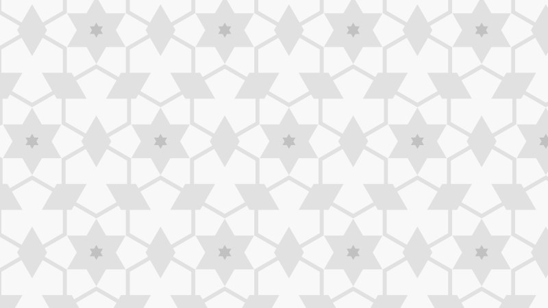White Star Pattern Illustrator