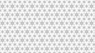 White Star Background Pattern Vector