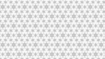 White Star Background Pattern Vector
