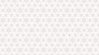 White Seamless Star Pattern Vector Art