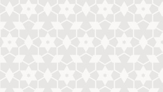 White Seamless Star Pattern Background Graphic