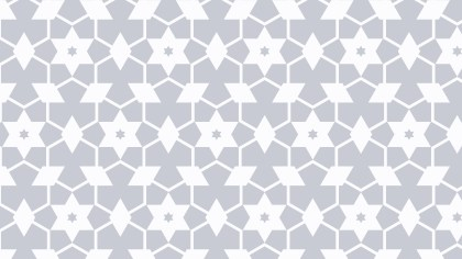 White Stars Pattern Design