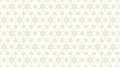 White Stars Pattern Background Image
