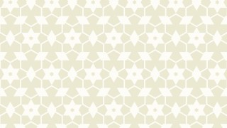 White Stars Background Pattern Vector Graphic