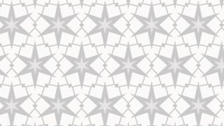 White Star Pattern Background