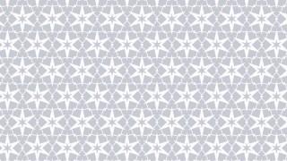 White Seamless Star Background Pattern