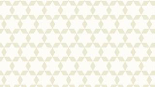 White Stars Background Pattern