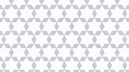 White Seamless Stars Pattern Background