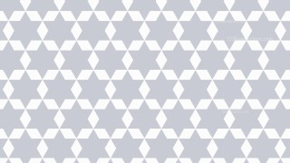 White Geometric Star Pattern