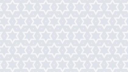 White Stars Pattern Background Vector Illustration