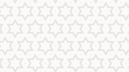 White Stars Background Pattern Vector