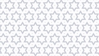 White Seamless Stars Pattern Background Graphic