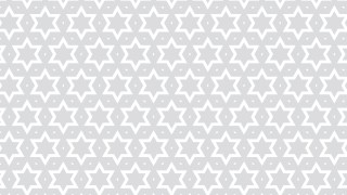White Star Pattern Background