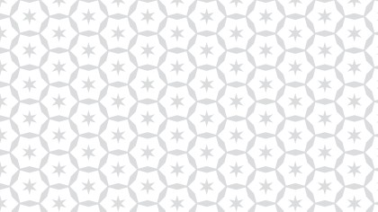 White Seamless Star Background Pattern Vector Art