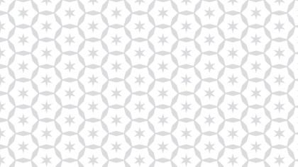 White Seamless Star Background Pattern Vector Art